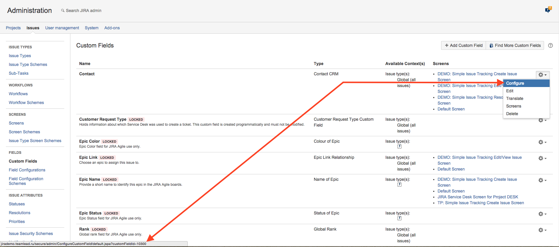 Adding Crm Custom Fields To Email Template Crm For Jira En