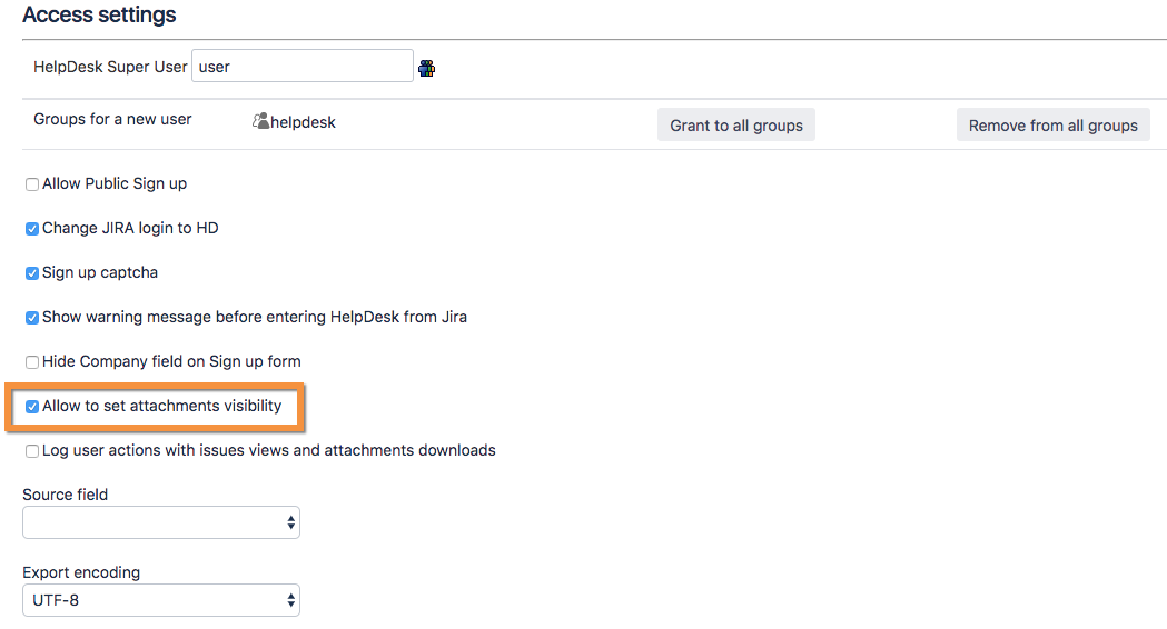 Restrict attachments visibility - HelpDesk for Jira 1 9 6